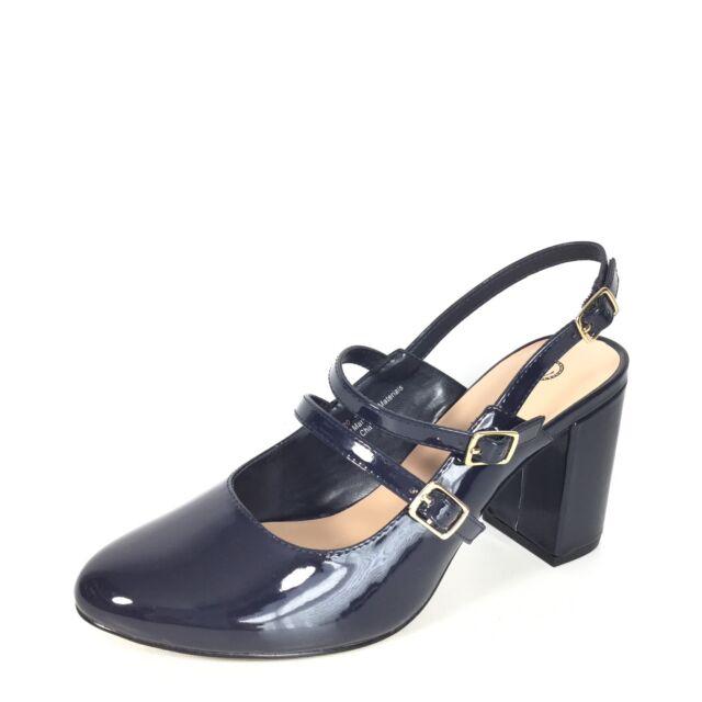 8679c5998f Bella Vita Nessa II Women's Size 8.5 Navy Patent Heel Dress Pump Shoes.