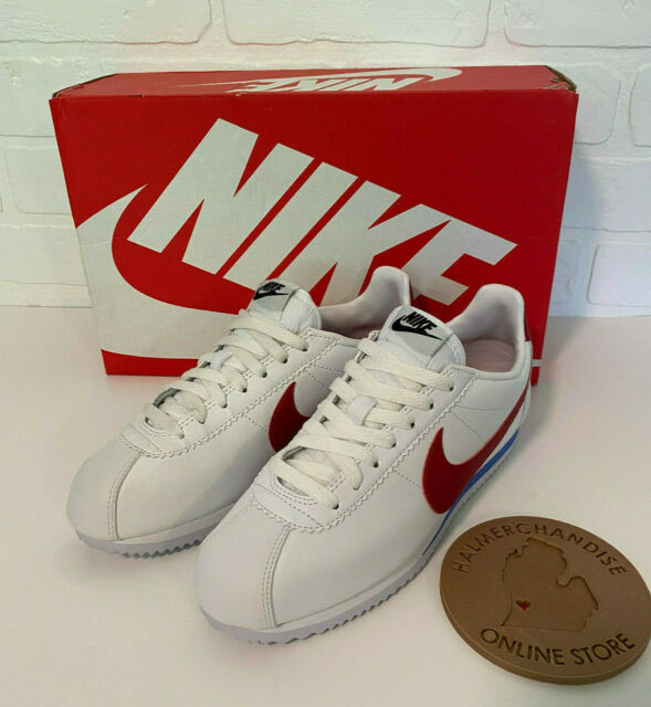 Hecho un desastre Nathaniel Ward nacido  Nike Classic Cortez Leather Casual Women's Shoes / SNEAKERS White for sale  online | eBay