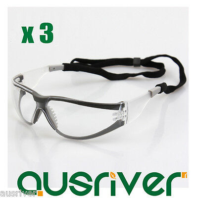 Facility Maintenance & Safety Collection Here 3x 3m 11394 Windproof Goggles Anti-fog Protective Glasses Safe Eyewear Lanyard To Ensure A Like-New Appearance Indefinably Home & Garden