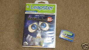 GREAT-Leap-Frog-Leapster-Leapster2-Disney-Pixar-Wall-E-Pre-K-1st-gr-4-7-yrs