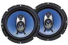 "Pair Car Speakers 6.5"" 360 Watt 3 Way Full Loud Range Auto Stereo Truck Audio"