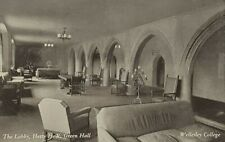 C.1930's Wellesley College The Lobby, Hetty H.R Green Hall  A31