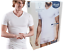 Men-039-s-T-Shirt-Intimate-short-Sleeve-V-Neck-Cotton-Basic-V-Neck-sloggi thumbnail 1