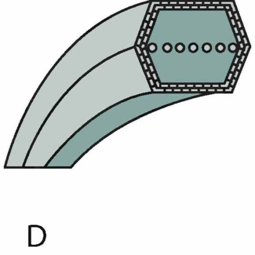 18-102 hde 20-102 hde Mähwerkantrieb correas trapezoidales 514877 para al-KO t 16-102 HD-H