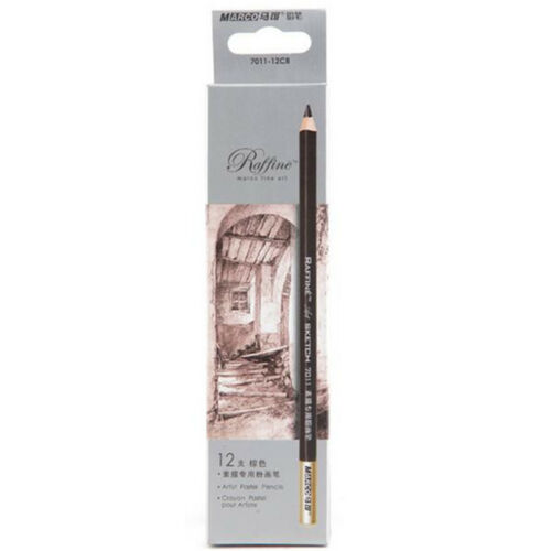 Brown Pastel Charcoal Drawing Sketch Pencil Art Artist Craft School Supplies