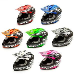 Wulfsport-Adult-Sceptre-Helmets-Motocross-Pitbike-Motorbike-Off-Road-Racing-ATV