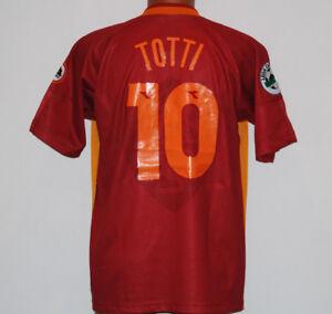 Maglia-Totti-1997-1998-Diadora-Roma-Ina-Assitalia-Large-Home-Jersey-shirt
