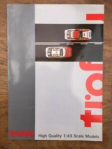 3-x-TROFEU-A4-colour-catalogues-Early-1990-039-s-1999-amp-2000-Ford-Subaru-Porsche