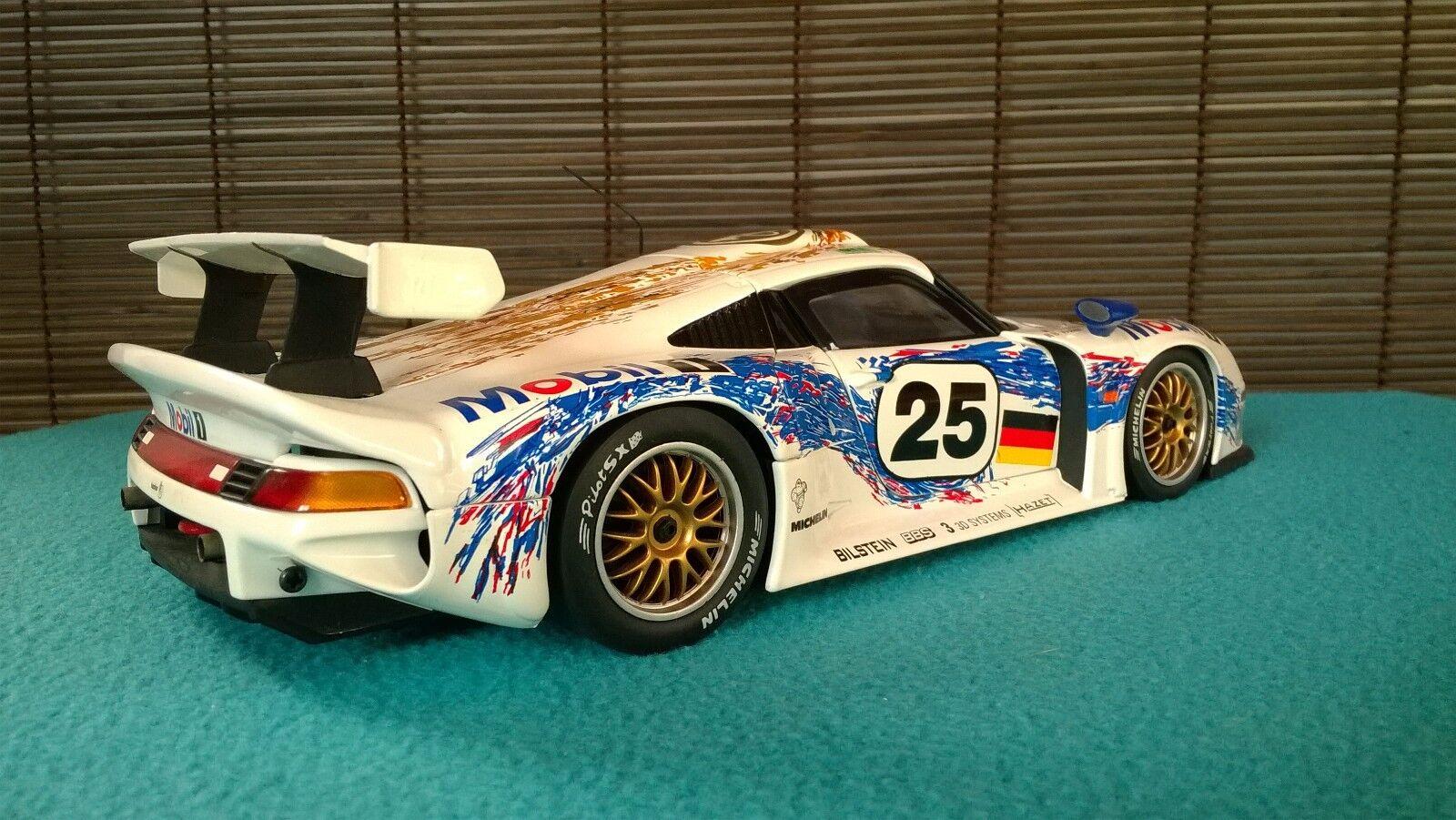 Porsche Porsche Porsche 911 GT1 Racing collection 1996 - Modellauto 1 18 UT Models in OVP 81adc1