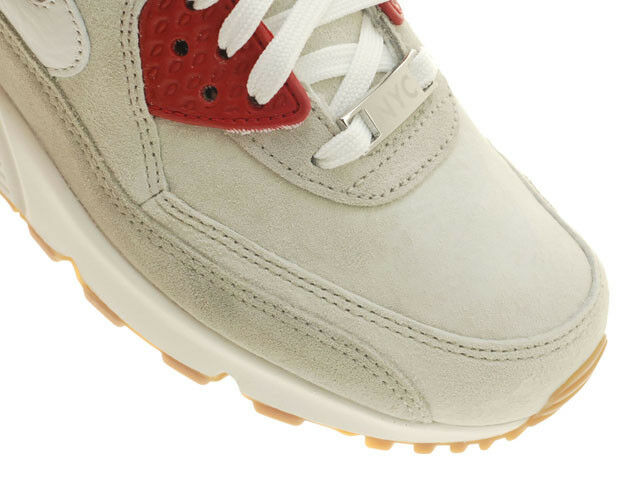 Nike Women's Air Max 90 90 90 City Pack QS NY New York Strawberry Cheesecake NYC Gum 6 e538a3
