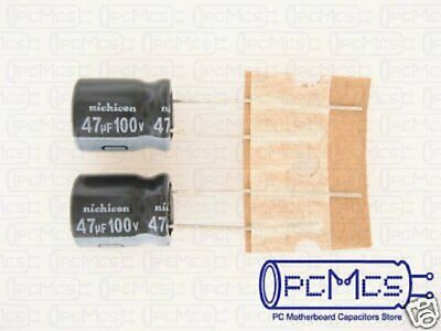 15 Pcs of Nichicon VZ Series 63V 100UF Made in Japan 105c Capacitor 10x12.5