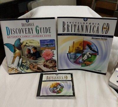 Encyclopedia Britannica CD-ROM 99 Multimedia Edition Windows 95/98 ...