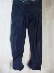 """H&m Noir Sports Leggings Taille 27"""" -30""""-afficher Le Titre D'origine"""