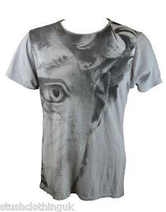 Pearly-King-Herren-Silber-Due-T-Shirt-Grau-PKTS081