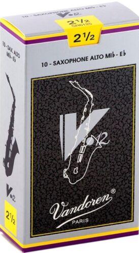 Vandoren Alto Sax V12 Reeds 10 Per Box