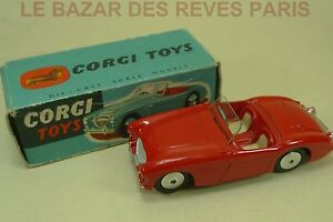 Corgi Toys Gb. Austin Healey. Ref: 300. + Boite. Jwreia2m-07162235-769944404