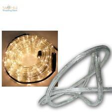 (3,20€/m) 10m LED Lichtschlauch mit 240 LEDs warmweiß, IP44, Lichterschlauch