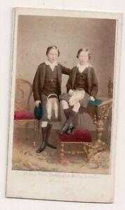 Vintage-CDV-Prince-Arthur-Duke-of-Connaught-amp-Prince-Leopold-Duke-of-Albany
