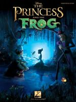 The Princess And The Frog Sheet Music Piano Vocal Guitar Songbook 000313482