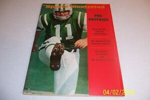 1969-Sports-Illustrated-NEW-YORK-Jets-AFL-NFL-Pro-Football-Preview-NO-LABEL