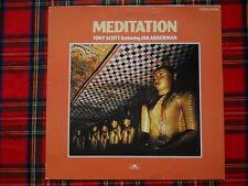 Tony Scott Jan Akkerman Meditation LP washed /gewaschen (M- to Ex+)