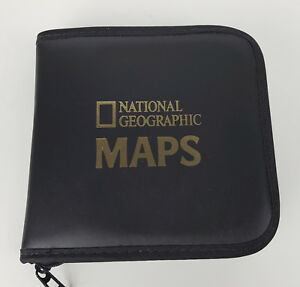 National-Geographic-Maps-1999-CD-ROM-8-Disc-Set-with-Graphic-CD-Binder