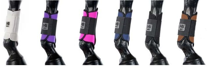 HYIMPACT BRUSHING BOOT FOR HORSES PredECTS LEGS VARIOUS SIZES AND COLOURS