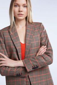 Love 38 Plaid Nuovo Per Fashion Set Im Giacca Dettagli Longblazer Blazer Ss19 qPwIt4xO
