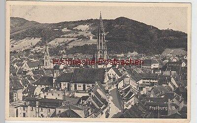 (87903) Ak Freiburg Im Breisgau, Stadtansicht 1925