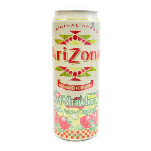 Arizona Kiwi Strawberry Diversion Safe Can Hidden Storage Container With Dp Sac