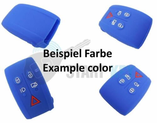 Jaguar Schlüssel Silikon Hülle Cover XJ XF XK XKR X S-Type Key less Go 8 Farben