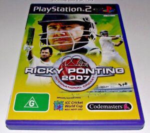 Ricky-Ponting-2007-International-Cricket-PS2-Playstation-2-PAL-Complete