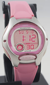Casio-Ladies-Pink-Digital-Sports-Watch-with-LED-Light-LW-200-4BV-Brand-New