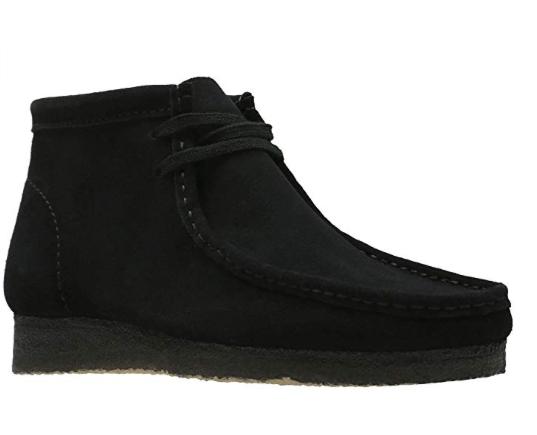 4e8538974c5 Clarks Originals Wallabee Boot Men's Black Suede Style #26133281