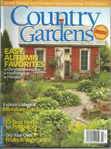 Country Gardens Magazine Better Homes Gardens Fall 2015