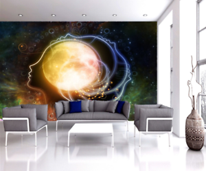 Details About 3d Peel Stick Abstract Galaxy Space Wall Murals Print Poster Wallpaper Photo