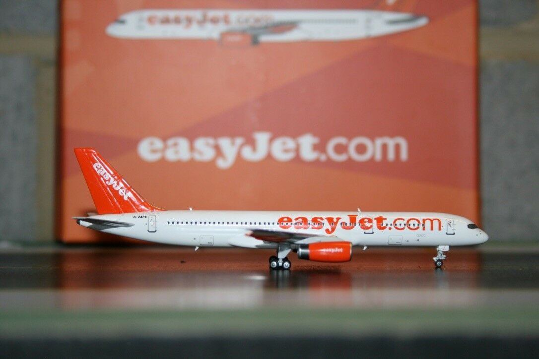 Ng modell 1 400 easyjet boeing 757-200 g-zapx (53017) sterben mit modellflugzeug