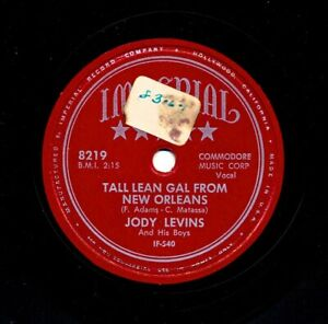 JODY-LEVINS-1953-Imperial-8219-Tall-Lean-Gal-From-New-Orleans-Hey-Liberace