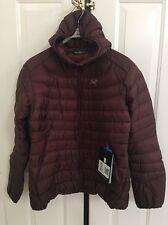 Arc'teryx Cerium LT Hooded Down Jacket-Women's Sz. X-Small Cherry Chocolate $379