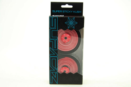 Star Fade Red//Black Supacaz Super Sticky Kush Road Bike Handlebar Tape