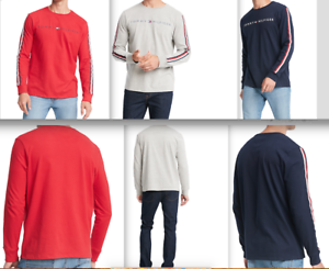 NewTommy-Hilfiger-Men-039-s-Nash-Logo-Graphic-T-Shirt-Crewneck-Logo-M-L-XL-2XL
