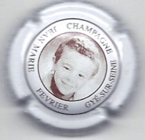 Capsule de champagne Fevrier Jean Marie N°23b