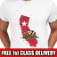 Mens Printed T-Shirts USA CALIFORNIA BEAR T Shirt Mans White TShirts Graphic Tee