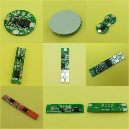 2 CELLS Battery Li-ion Lithium Protection Boards 18650 BMS PCB 1-10A 2S Pack