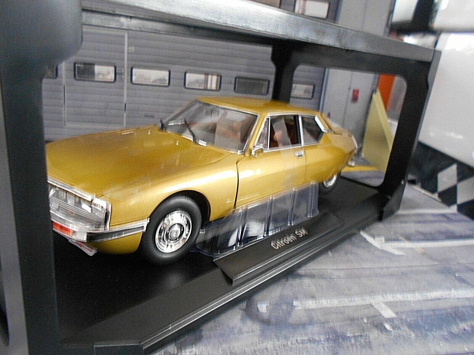CITROEN SM Maserati V6 1971 Golden leaf Gold met. 181730 NEU Norev 1 18