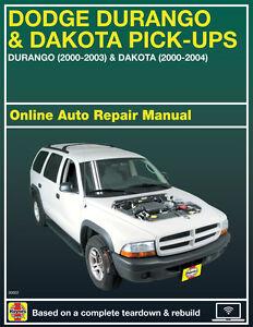2002 Dodge Dakota Haynes Online Repair Manual Select border=