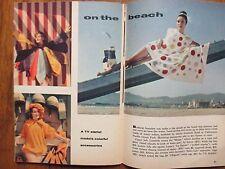 JUNE, 10-1961 TV Guide (LISABETH HUSH/HORACE McMAH0N/NAKED  CITY/SHARON  HUGUENY