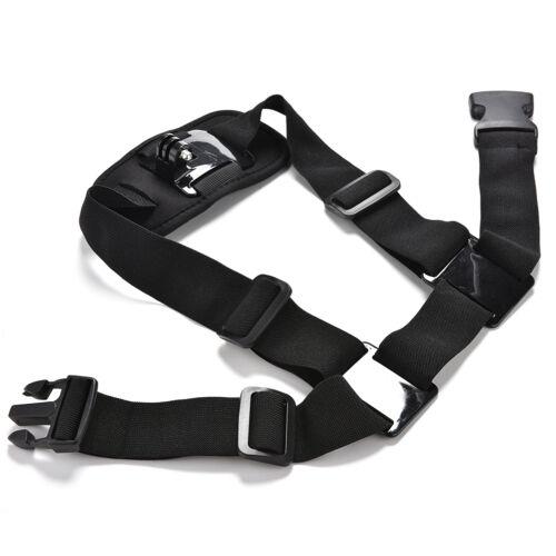 Montaje Correa para el hombro en el pecho para GoPro Hero 3 3 4 Cinturón Arnés Accesorio de sesión *