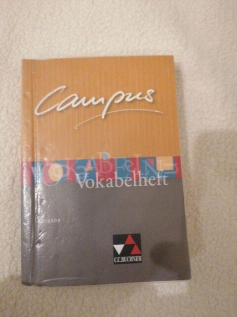 Campus - Ausgabe C. Gesamtkurs Latein in drei Bänden / Campus C Vokabelheft von…