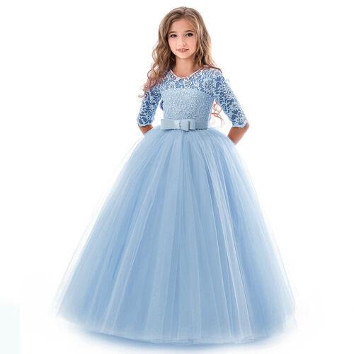 Kid/'s Dress Children Birthday Half Sleeve Stylish Dress Cosplay Pageant